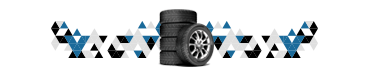 Small Geometric Pattern with Tires